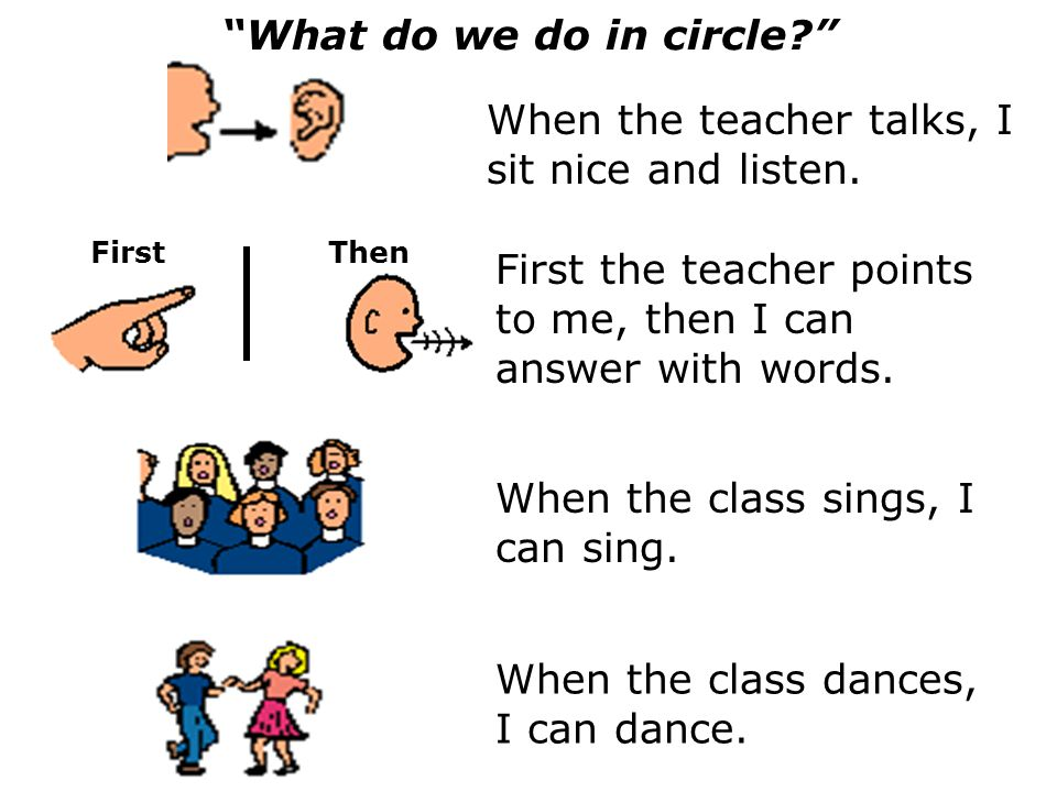 What do we do in circle