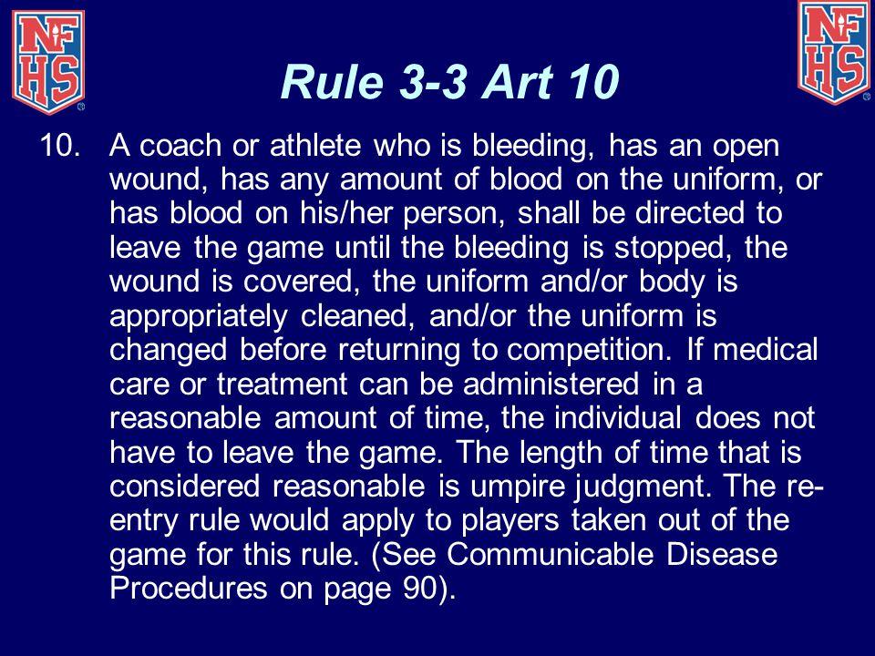 Rule 3-3 Art 10