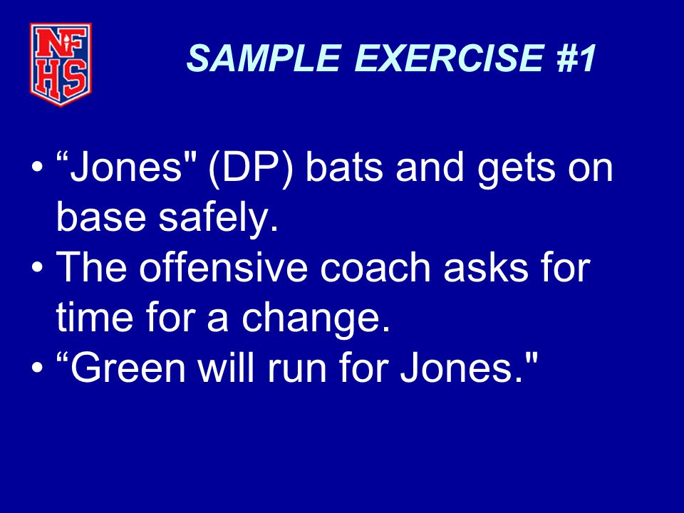 Jones (DP) bats and gets on base safely.