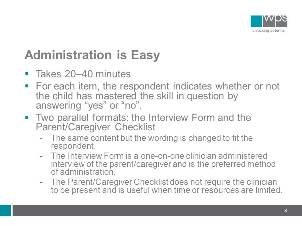 Administration is Easy