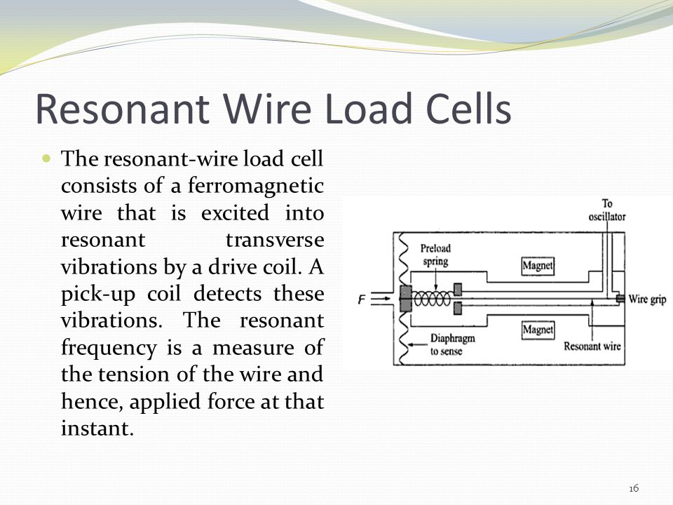 Resonant Wire Load Cells