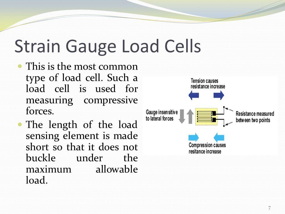 Strain Gauge Load Cells