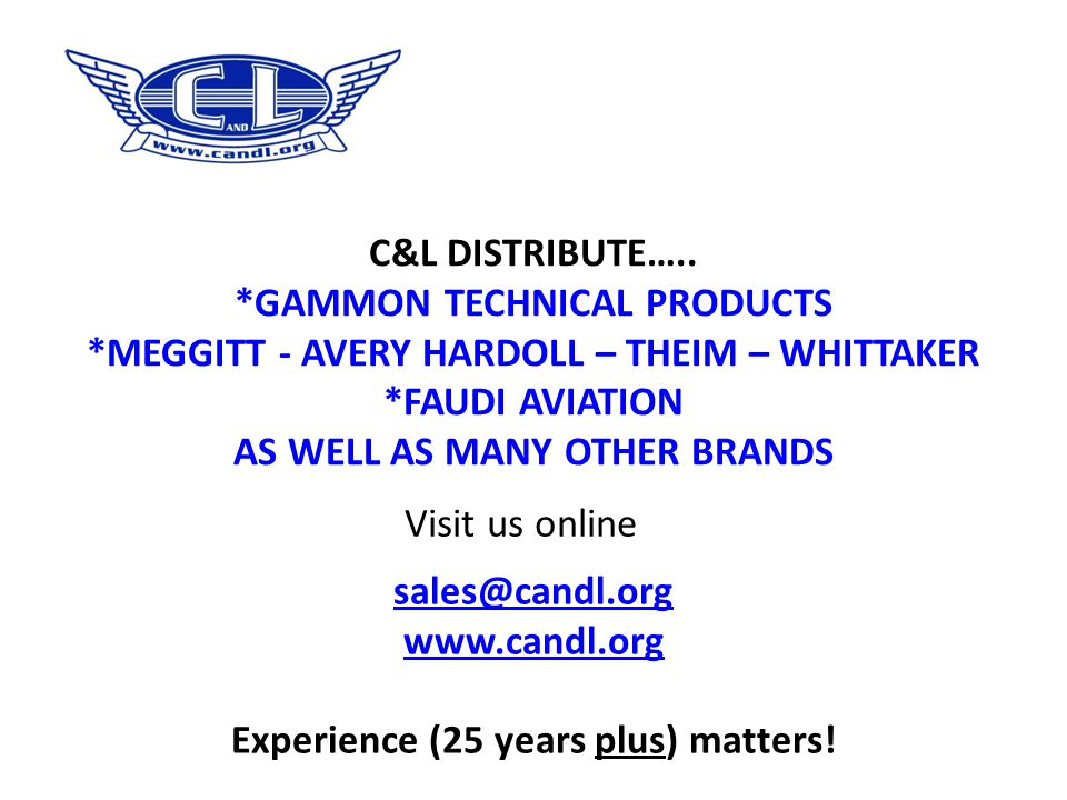 *GAMMON TECHNICAL PRODUCTS