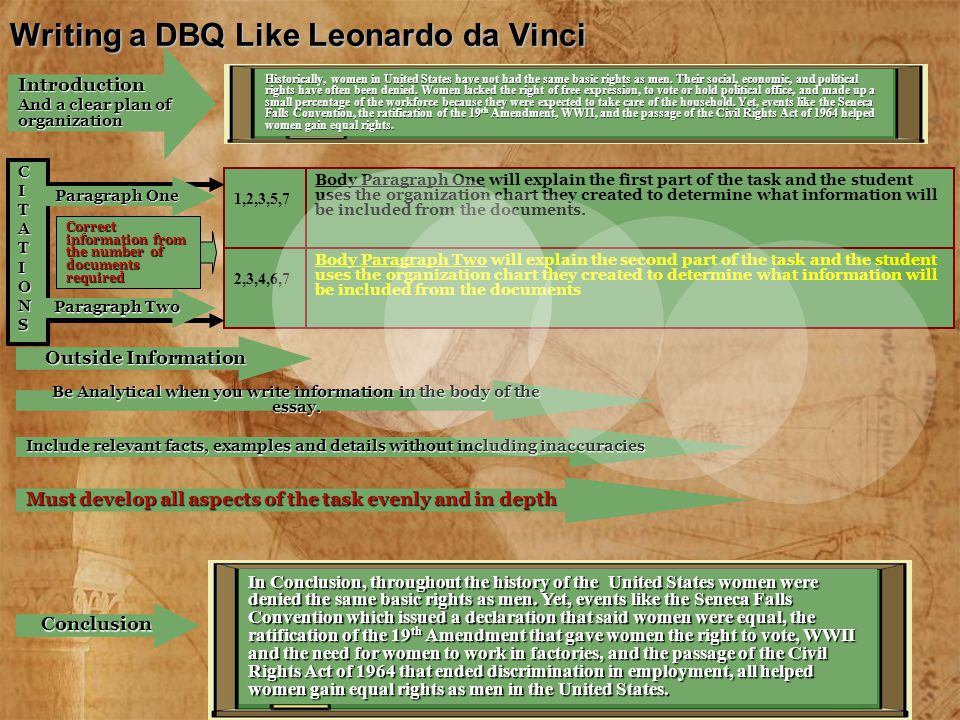 leonardo da vinci introduction essay Leonardo da vinci choose an artist from the following list: leonardo da vinci michelangelo sofonisba anguissola titian durer caravaggio artemisia gentileschi other artists may be included with instructor's permission 12 font-double spaced times new roman i margins after the beginning of class on the due date, papers are one week late.