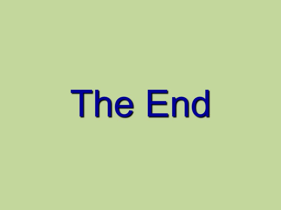 30/09/99 The End