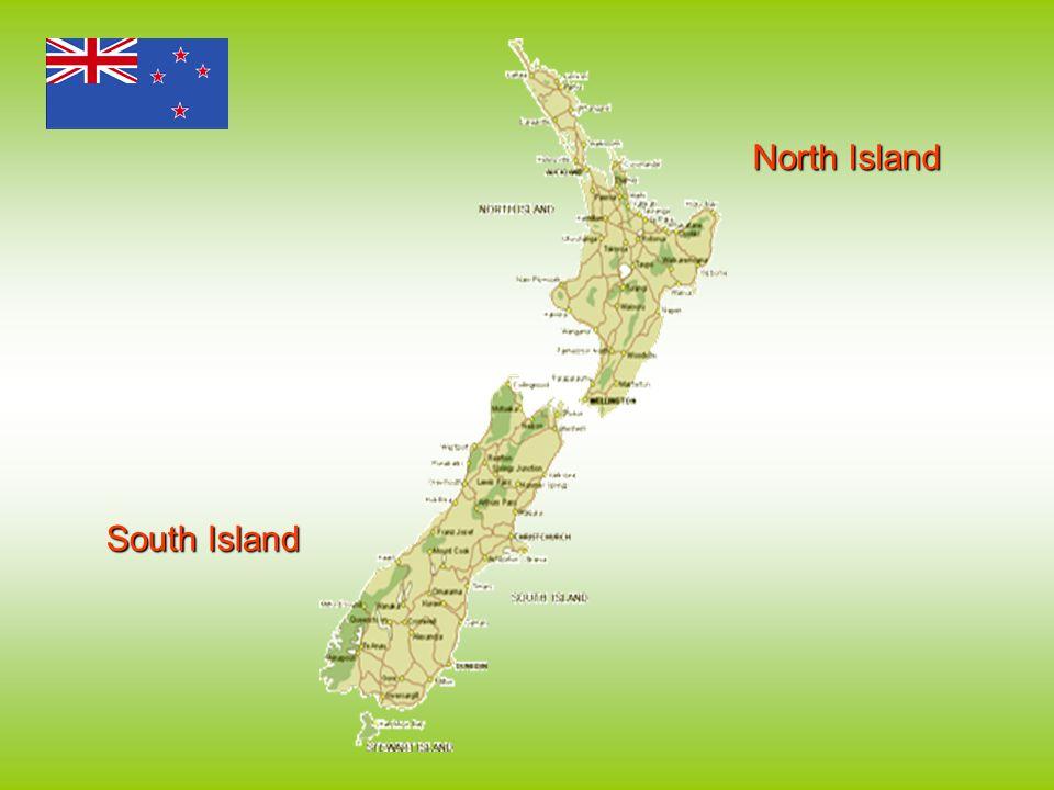 North Island South Island