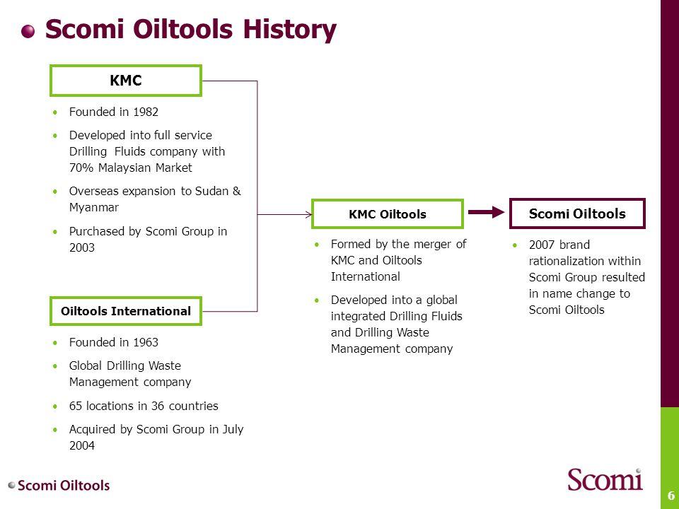 Scomi Oiltools History