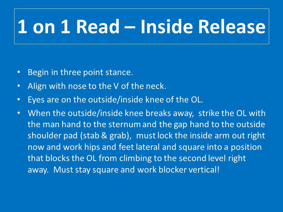 1 on 1 Read – Inside Release