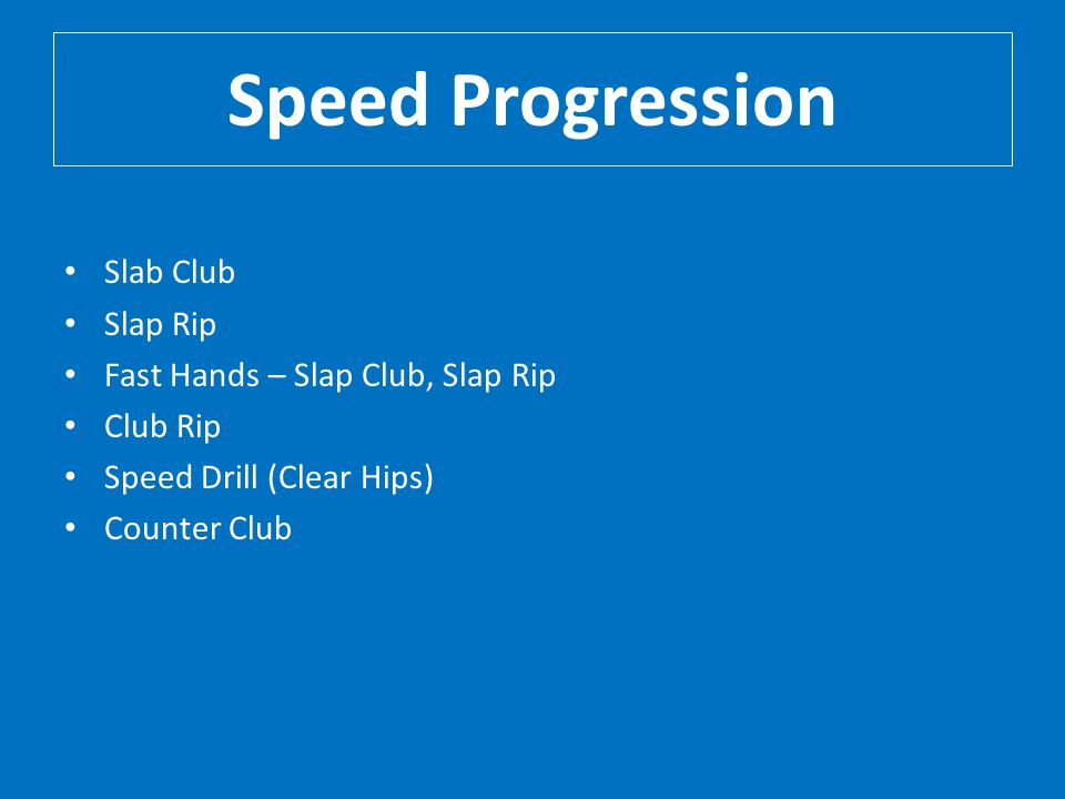 Speed Progression Slab Club Slap Rip Fast Hands – Slap Club, Slap Rip