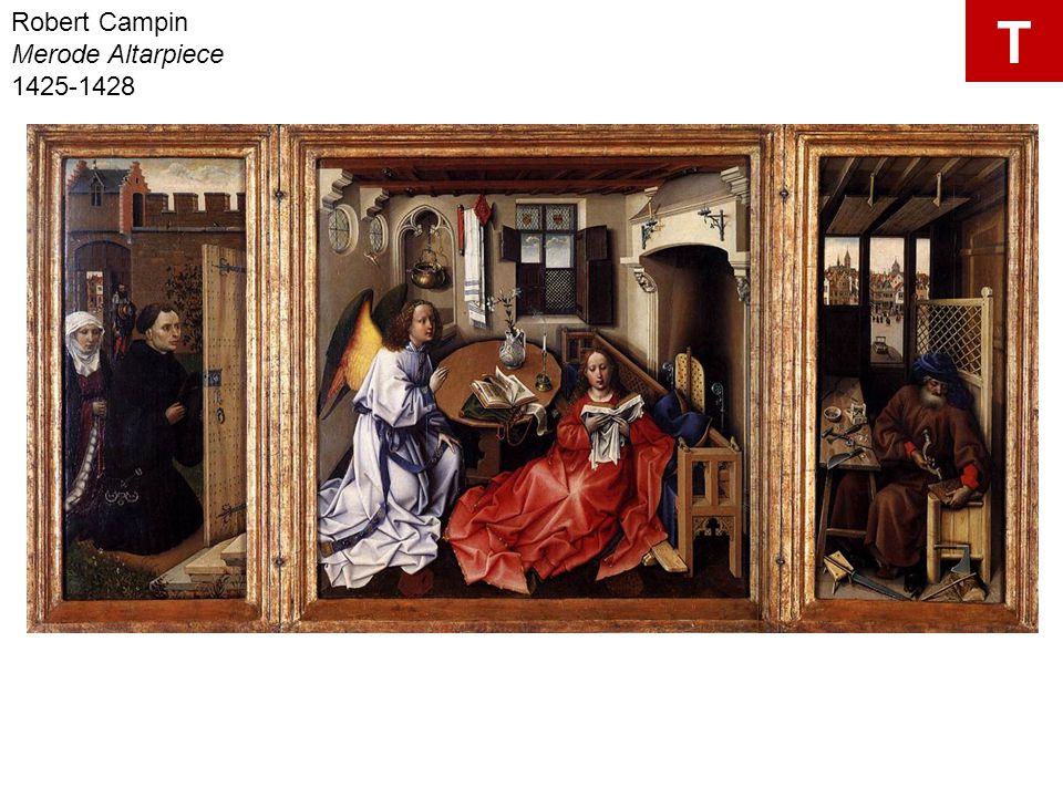 Robert Campin Merode Altarpiece 1425-1428