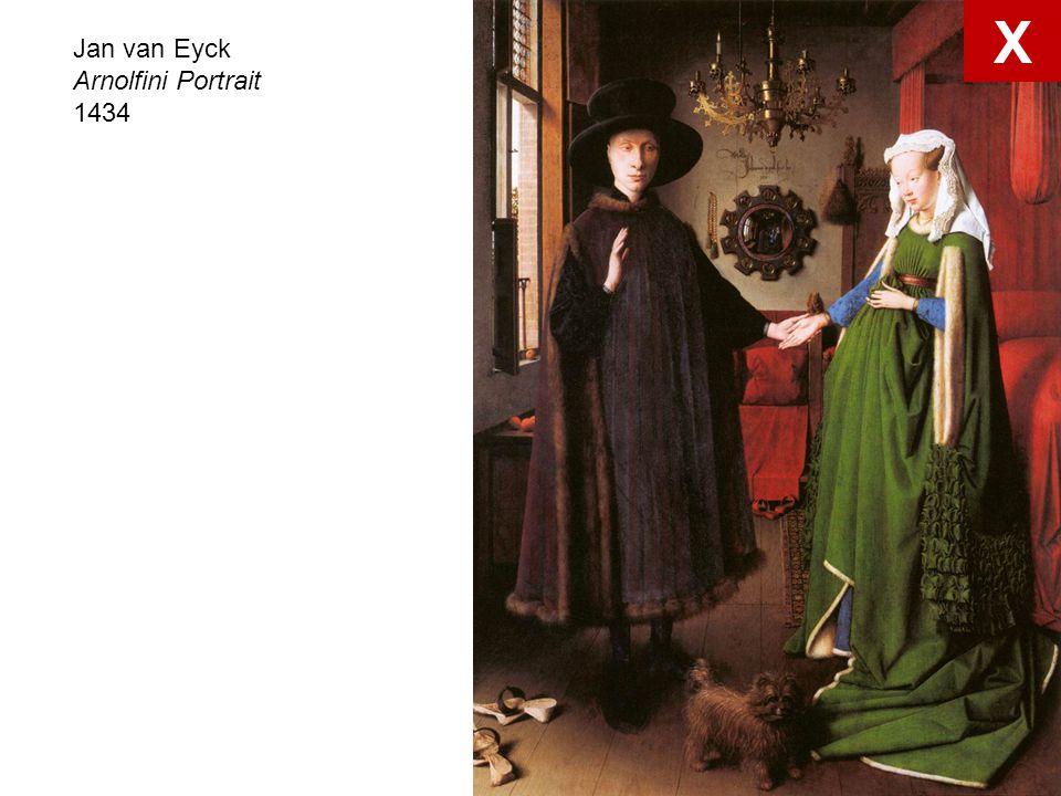 X Jan van Eyck Arnolfini Portrait 1434