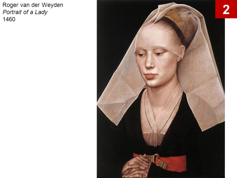 Roger van der Weyden Portrait of a Lady 1460