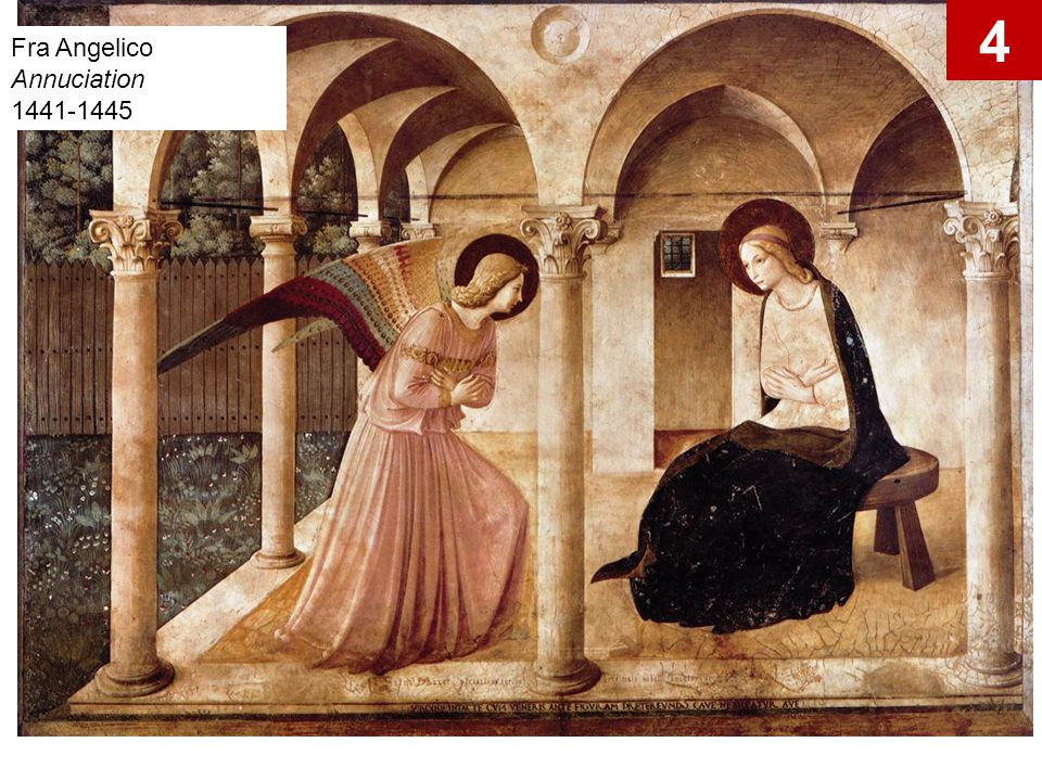 4 Fra Angelico Annuciation 1441-1445