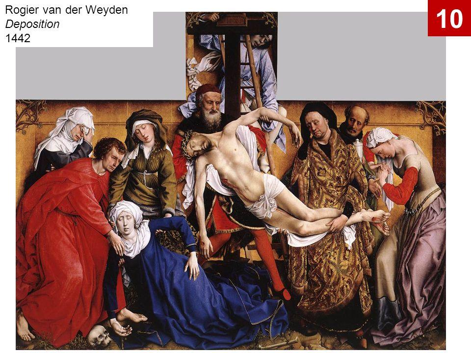 Rogier van der Weyden Deposition 1442
