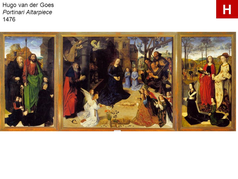 Hugo van der Goes Portinari Altarpiece 1476