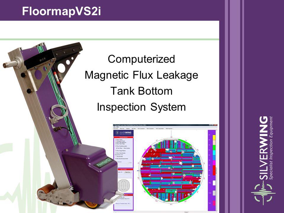 FloormapVS2i Computerized Magnetic Flux Leakage Tank Bottom