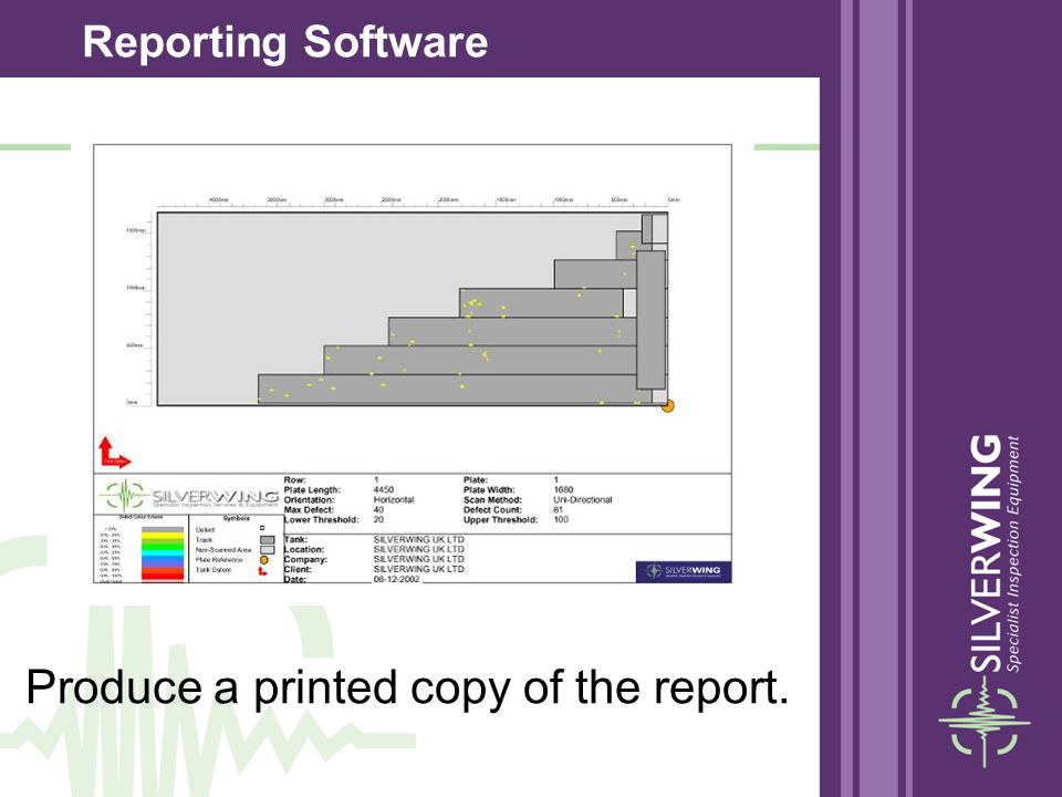 Produce a printed copy of the report.