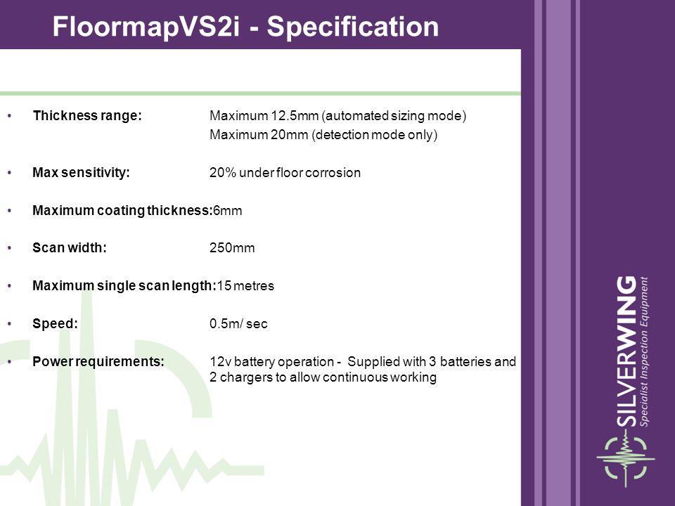 FloormapVS2i - Specification