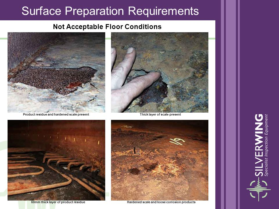 Surface Preparation Requirements