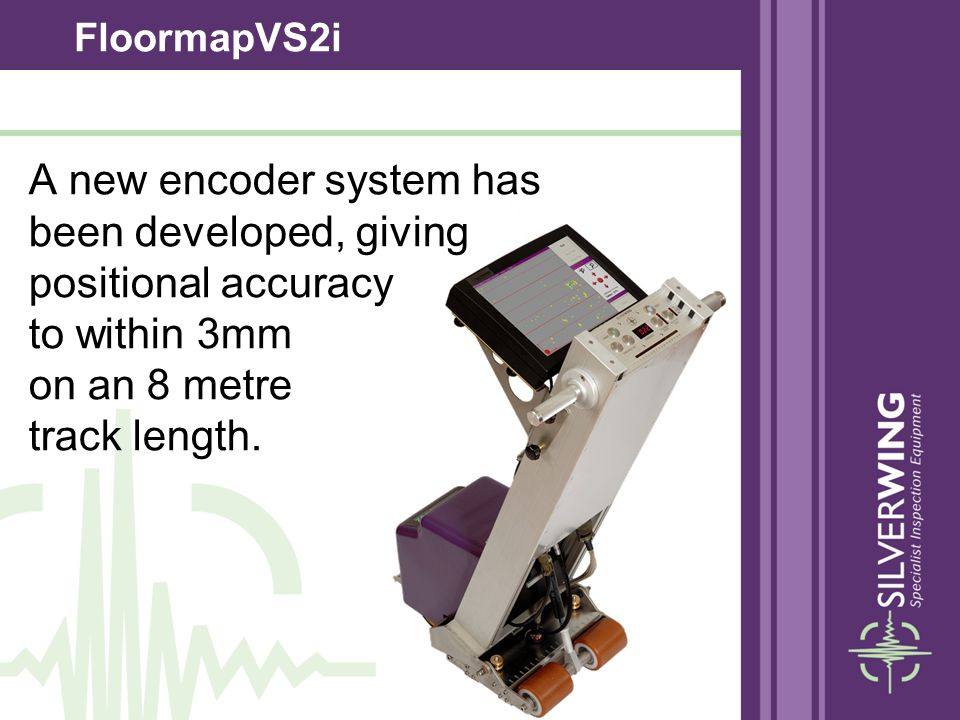 A new encoder system has been developed, giving positional accuracy