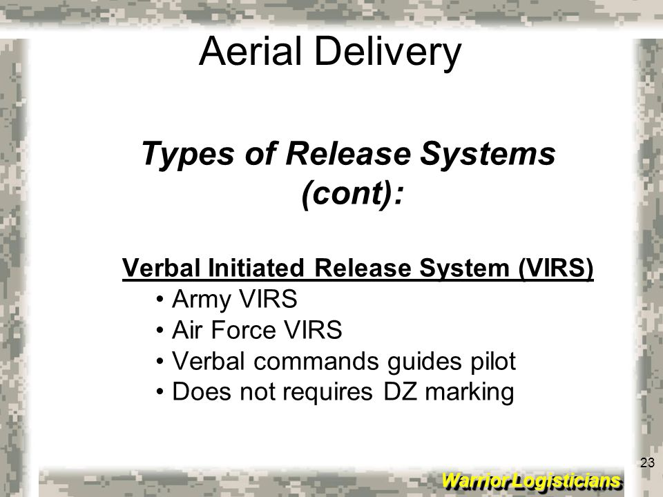 Types of Release Systems