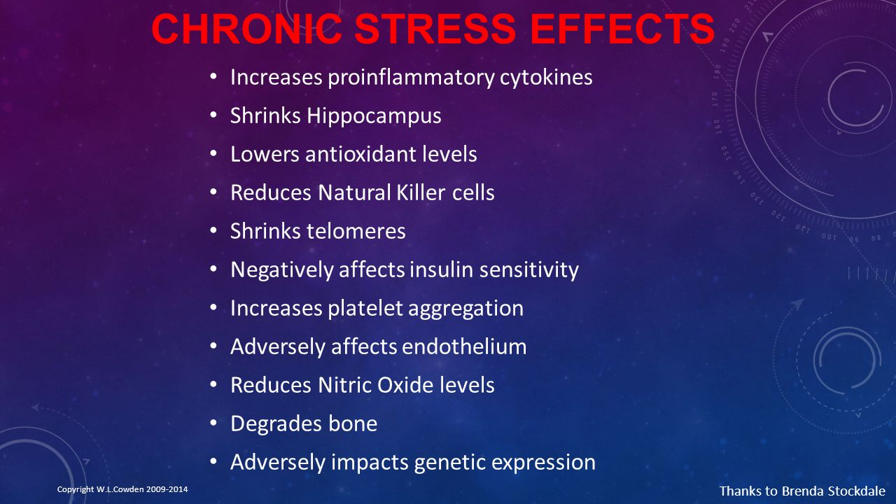 Chronic Stress Effects