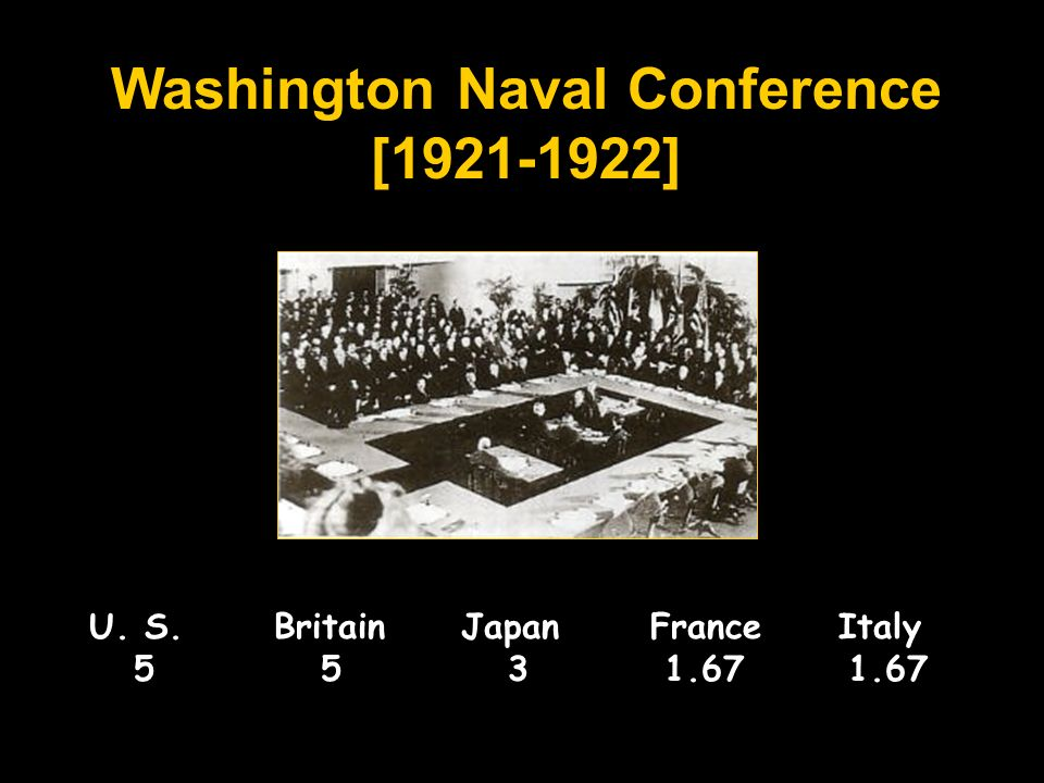 Washington Naval Conference [ ]