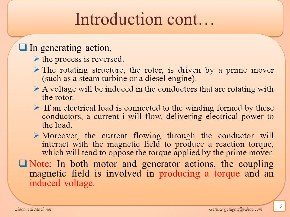 Introduction cont… In generating action,