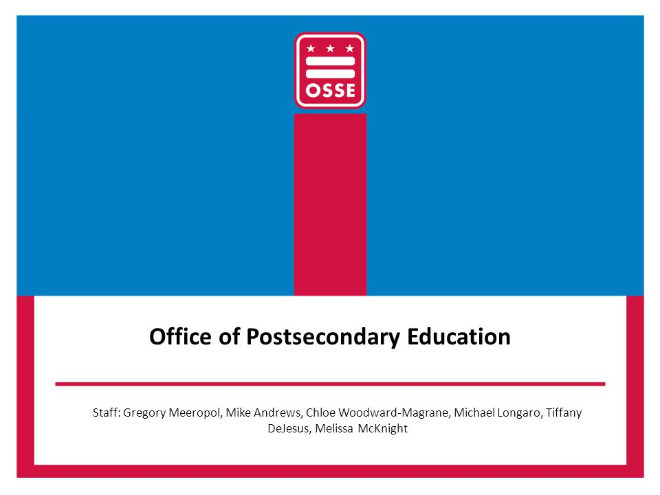 Office of Postsecondary Education