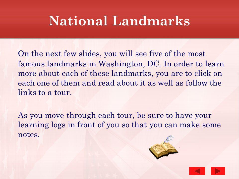 National Landmarks