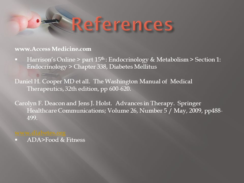 References www.Access Medicine.com