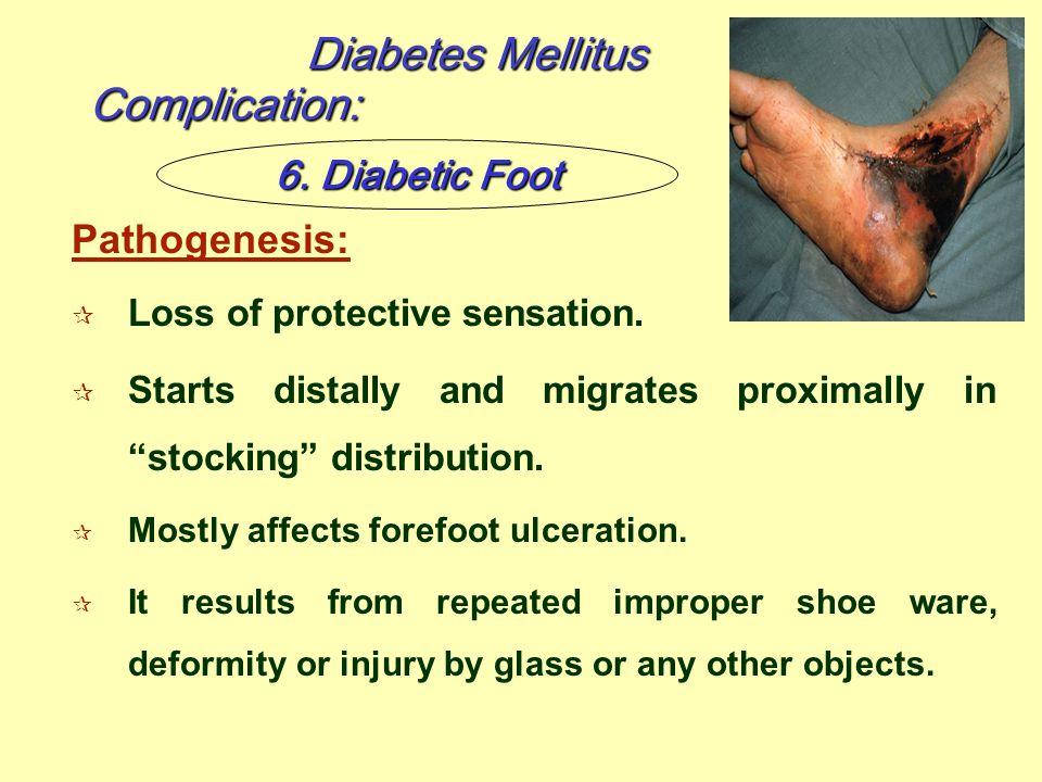 Diabetes Mellitus Complication: 6. Diabetic Foot Pathogenesis: