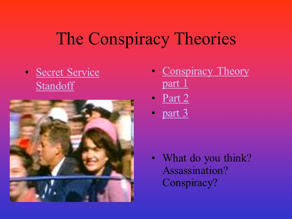 The Conspiracy Theories
