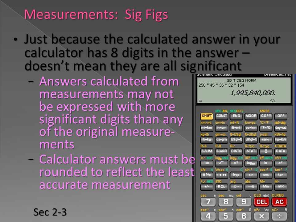 Measurements: Sig Figs
