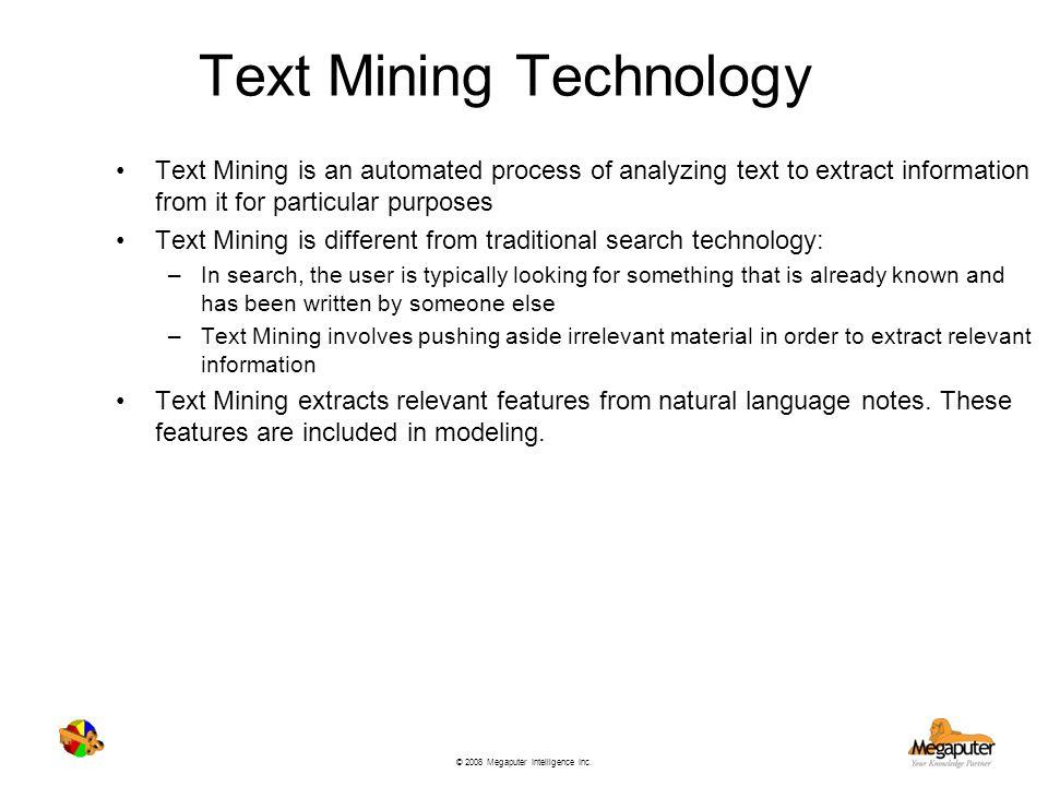 Text Mining Technology
