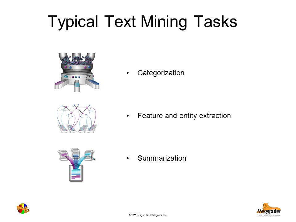 Typical Text Mining Tasks