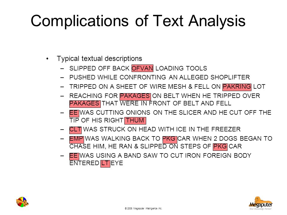 Complications of Text Analysis
