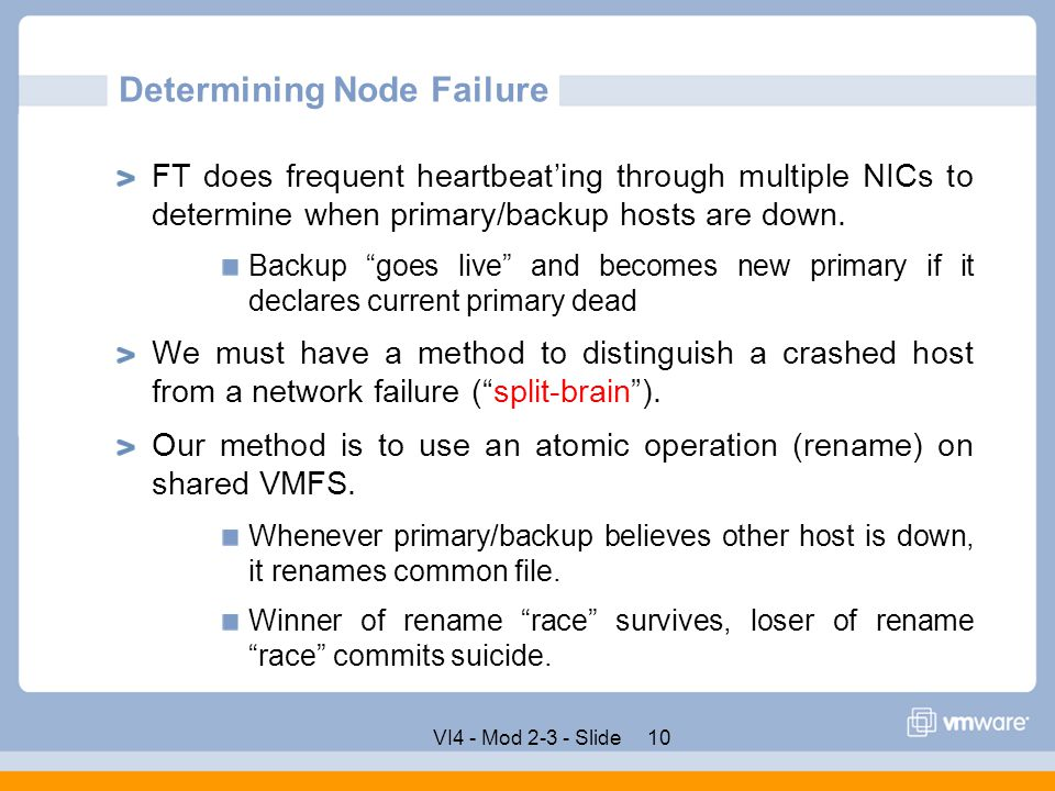 Determining Node Failure