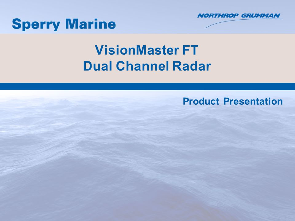 VisionMaster FT Dual Channel Radar