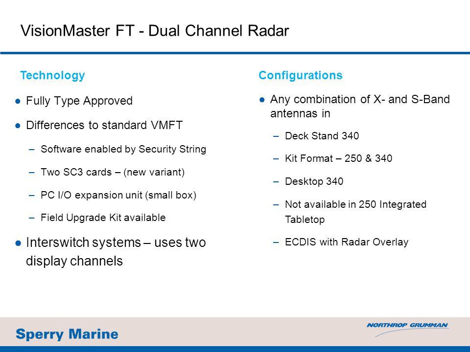 VisionMaster FT - Dual Channel Radar