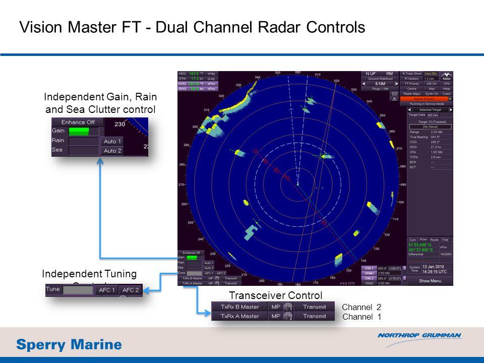 Vision Master FT - Dual Channel Radar Controls