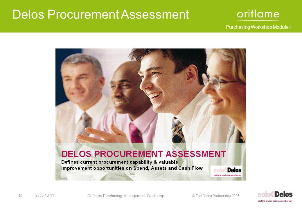 Delos Procurement Assessment