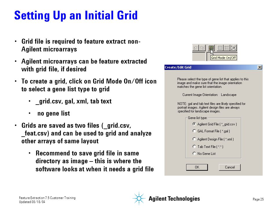 Setting Up an Initial Grid