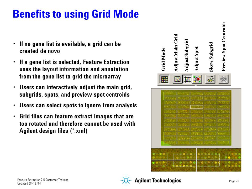 Benefits to using Grid Mode