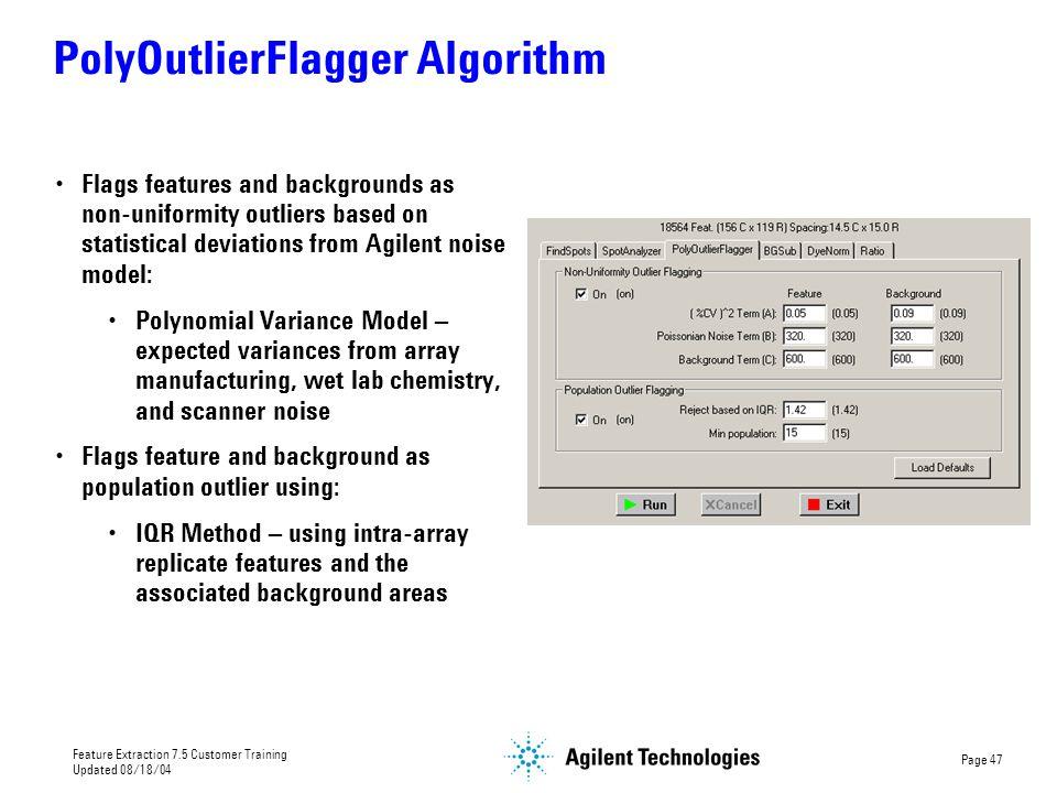 PolyOutlierFlagger Algorithm