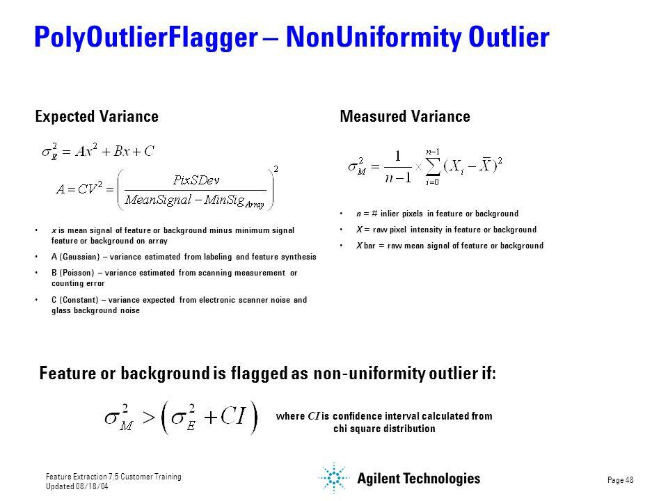 PolyOutlierFlagger – NonUniformity Outlier