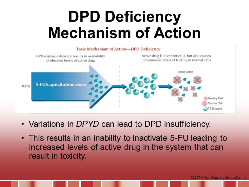 DPD Deficiency Mechanism of Action