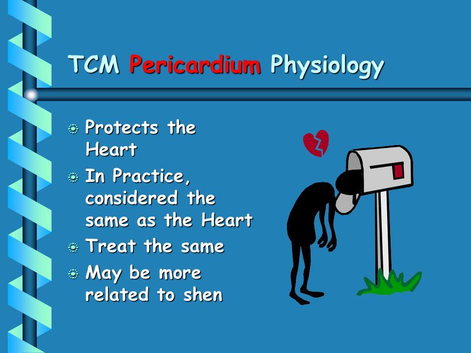 TCM Pericardium Physiology