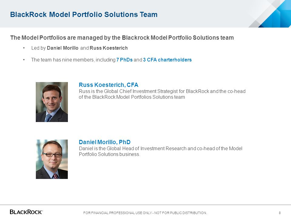 BlackRock Model Portfolio Solutions Team