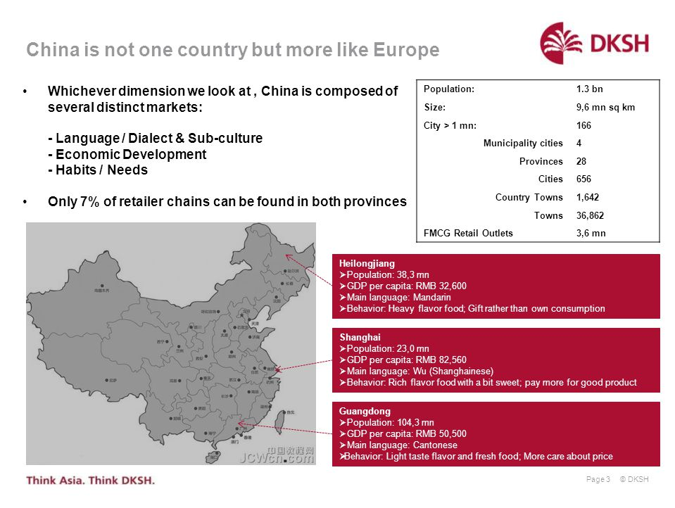 China is not one country but more like Europe